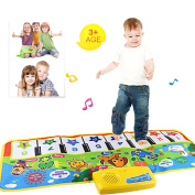 Musical Toys, Education Toy, New Touch Play Keyboard Musical Music Singing Gym Carpet Mat Best Kids Baby Gift