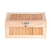 HEHILARK Useless Box, Creative Don't Touch Tiger Useless Box Audio Version Useless Box Wooden Electronic Useless Box Funny Gift Toy Stress-Reduction Desk Decoration