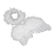 HEHILARK Baby Costume For Photograph, Newborn Baby Girls Boys Costume Photography Props Feather Angel Fairy Wings style Outfit