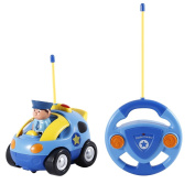 HEHILARK RC car, Police RC Race Car Remote Control Car Toys Kids Gifts Toys for Toddlers and Kids