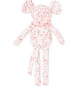 Petit Bateau Cuddly Mouse Floral Neon Pink