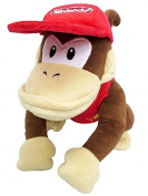 Little Buddy Nintendo Super Mario All Star Collection Diddy Kong 23cm Plush