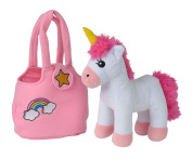 Simba 105560064 Steffi Love Girls Unicorn Design with Bag