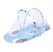Kelaina 1 pc Foldable Baby Infant Pillow Mosquito Net Mattress Cradle Bed