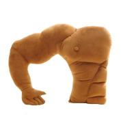 KiKa Monkey Side sleeper Musle pillow True love boyfriend pillow toy gift for Single Women