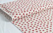 'Aventura' iron-on fabric 1 m Burgundy 100 X 150 cm 100% Cotton