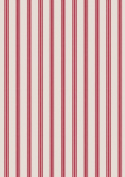 Lewis & Irene A countryside Winter, Red stripe Fat Quarter