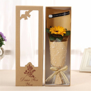 Christmas gifts Teacher's Day gift graduation season, father's Day gift, soap flower gift box bouquet to father, teacher classmate