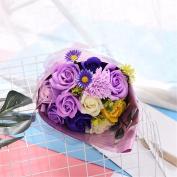 Christmas gifts Valentine's Day bouquet, Korean soap flower, imitation flower handmade soap, hand holding flower birthday gift