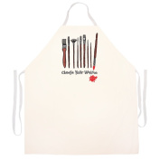 """Attitude Aprons Fully Adjustable """"Choose Your Weapon"""" Artist Apron"""
