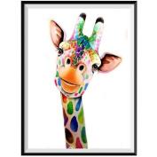 Mumustar Handmade 5D DIY Diamond Painting Embroidery Rhinestone Pasted Giraffe Pattern Cross Stitch Home Decor Wall Art Crafts
