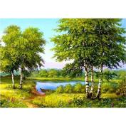 Gemini_mall® 5D Diamond Embroidery Painting Rhinestone Cross Stitch Kits Home Decor DIY