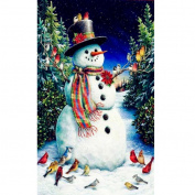 SO-buts Diamond Embroidery Santa Christmas Tree DIY Diamond Painting Cross Stitch Picture