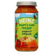 Heinz Mum's Own Spaghetti Bolognese 10 Mths+ 250g