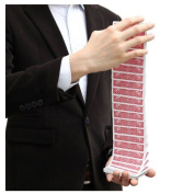 Electric Deck   Waterfall Deck   Easy Magic Trick   Simple To Do   Card Manipulation   Stage Magic   Professional Magic Prop   Street Magic   Children's Kids Entertainer   **Dispatched From UK**
