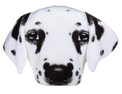 Adorably Cute Dalmatian Dog Decoration Cushion - Number One Girl Girls Boy Boys Children Kids Child Great Gift Present Idea for Birthdays Christmas Xmas Stocking Fillers Top Ups Treats Rewards Pocket Money Easter Fun Toys & Games - One Supplied