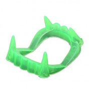 Kingwin Halloween Glowing Luminous Vampire Teeth Halloween Party Props - Green