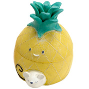 Small box for baby teeth Pineapple - Yellow