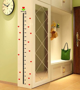 Sticker Height Metre Hearts For Children's Bedrooms Babies Rooms Of Open Buy Games