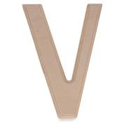 15cm Blank Unfinished Wooden Letter V