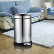 Ali Stainless steel pedal trash cans living room kitchen bathroom20L