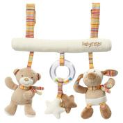 Fehn 160987 Rainbow Trapeze Baby Activity Toy