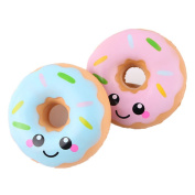 Miniature Novelty Toys, Kfnire 1pc Donuts Squishies Food Toy Charms Kids Toys Gift Party Favours Supplies - Random Colour