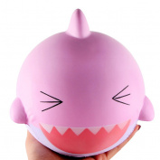 Whale Squishies, Kfnire Squeeze Toys Slow Rising Soft Whale Cartoon Squishy Release Stress Toy