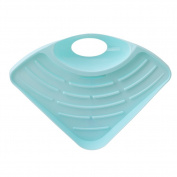 ODN Blue Kitchen Portable Hanging Drain Bag Basket Bath Storage Gadget Tools Sink Holder