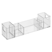 InterDesign Clarity Multi-Level Organiser, Clear