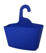 JOCCA Hanging Bathroom Organiser, Blue