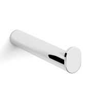 Gedy Canarie Wall Mounted Spare Toilet Paper Roll Holder, Chromed Brass