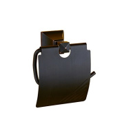 LNPP Black Toilet Paper Holder Covered With Top Quality Finish