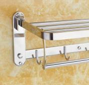 LD & P Towel rack 304 stainless steel bathroom folding Towel Bars Hardware bathroom accessories