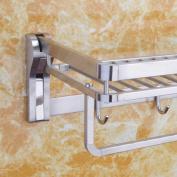 LD & P Towel Holder 304 Stainless Steel Towel Holders Bathroom shelves Bathroom Hardware Wall Mounted Towel Bars