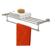 LD & P Towel rack 304 stainless steel foldable Towel Holders Bathroom shelf Towel Bars Hardware pendant