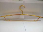 XRHFXD 10PCS Metal Coat Clothes Hangers Space Aluminium Non-slip Heavy duty , 2