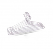 XRHFXD 10PCS Metal Coat Clothes Hangers Space Aluminium Non-slip Heavy duty , 3