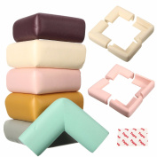 Cushion Guard Strips ,Jeteven 4-Pack Baby Safety Table Desk Edge Corner Strip Softener Bumper Protector