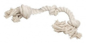 Diggers Rope Bone Dog Tug Toy White 100 % Cotton Rope