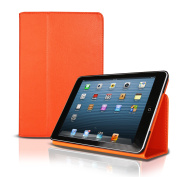 Photive Apple iPad Mini Smart Cover Folio Snap Case with Built in Stand and Fully Functional Sleep & amp; Wake Function