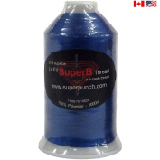 SuperB Embroidery polyester thread 5000m. Royal Blue 4453