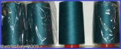 New Peacock Overlocking Sewing Machine Polyester Thread Four 5000 Yards Cones