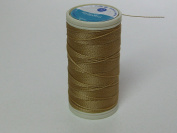 Coats Nylbond Sewing & Beading Thread (Bonded Nylon) For jeans, leather, elasticated fabrics & jewellery making - Tan 4112