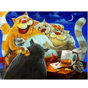 SO-buts 5D DIY Diamond Painting Animals 3D Embroidery Cross Stitch Mosaic Painting Decor