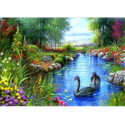 SO-buts 5D Diamond Rhinestone Pasted Embroidery Painting Cross Stitch Home Decor