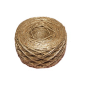 drawihi Natural Jute Rope Textured The Hessian Rope 100 m for Decoration which surrounds the Gift Price Tag Wedding Card Elegant Regrettable Rustic Crafts Scrapbooking DIY