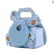 Sunsline Creative Candy Box Happy Birthday Bow Gift Bag