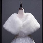 Bridal Wedding Shawl Cape Parcel Wedding Dress White Cape Winter Warm Big Scarf