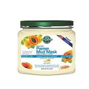 Hollywood Style White Glow Papaya Mud Mask - Refines, Purifies, & Exfoliates, Removes Impurities & Dead Cells - 320gm Jar